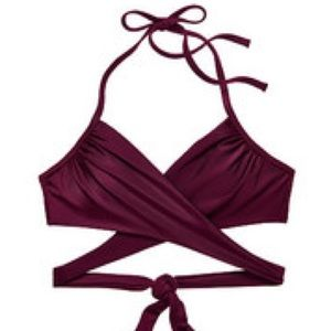 💥NWOT Victoria's Secret Body Wrap Halter Bikini